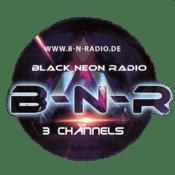 Rádio Black-Neon-Radio