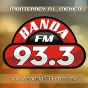 Rádio Banda 93.3 FM - La Mandona de Monterrey