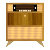 Rádio musiktruhe