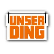Rádio UNSERDING Schwarz