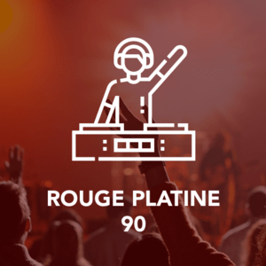 Rádio ROUGE PLATINE 90